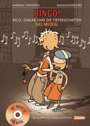 bingo: rico, oskar und die tieferschatten / rico  oskar bd.1, m. audio-cd von andreas