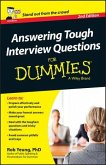 Answering Tough Interview Questions For Dummies - UK, 2nd UK Edition (eBook, ePUB)