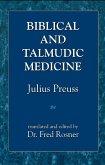 Biblical and Talmudic Medicine (eBook, ePUB)