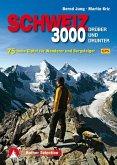 Dreitausender Schweiz - drüber und drunter
