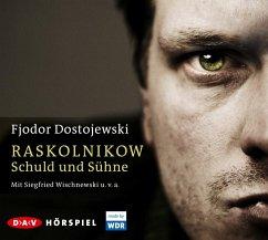 Raskolnikow. Schuld und Sühne, 4 Audio-CDs - Dostojewskij, Fjodor M.
