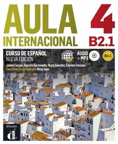 Aula internacional 4. Libro del alumno + Audio-CD (mp3). Nueva edición (B2.1)
