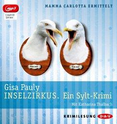 Inselzirkus / Mamma Carlotta Bd.5 (1 MP3-CDs) - Pauly, Gisa