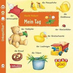 Eines der super Baby Pixi Bücher: Mein Tag. Ein tolles Babybuch.