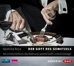 Der Gott des Gemetzels, 1 Audio-CD - Reza, Yasmina