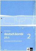 deutsch.kombi plus 2. Serviceband. Kopiervorlagen mit CD-ROM und Audio-CD (Loseblattsammlung gelocht und eingeschweißt) 6. Klasse