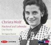 Nachruf auf Lebende. Die Flucht, 3 Audio-CD