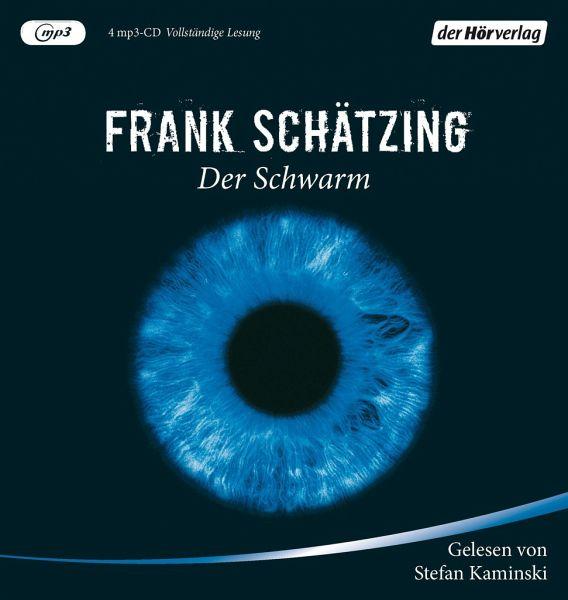 Der Schwarm, 4 MP3-CDs - Schätzing, Frank
