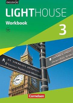 English G LIGHTHOUSE 3: 7. Schuljahr. Workbook mit Audios online. Allgemeine Ausgabe - Berwick, Gwen