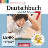 7. Schuljahr - Übungs-CD-ROM zum Arbeitsheft / Deutschbuch, Differenzierende Ausgabe