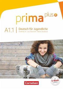 Prima plus A1: Band 01. Schülerbuch - Jin, Friederike; Rohrmann, Lutz; Zbrankova, Milena