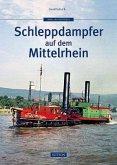 Schleppdampfer auf dem Mittelrhein