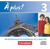2 Audio-CDs / À plus! Nouvelle édition Bd.3
