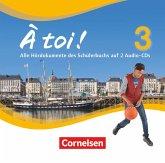 À toi ! - Vier- und fünfbändige Ausgabe - Band 3 / À toi! - Vier- und fünfbändige Ausgabe Bd.3