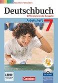 Deutschbuch 7. Schuljahr. Arbeitsheft mit Lösungen und Übungs-CD-ROM. Nordrhein-Westfalen