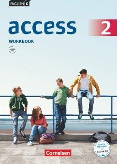 English G Access 6. Schuljahr. Allgemeine Ausgabe. Workbook mit Audios online - Seidl, Jennifer