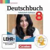 8. Schuljahr, Übungs-CD-ROM zum Arbeitsheft / Deutschbuch, Gymnasium, Arbeitsheft-Software