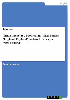 'Englishness' as a Problem in Julian Barnes'