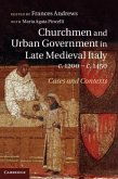 Churchmen and Urban Government in Late Medieval Italy, c.1200-c.1450 (eBook, PDF)