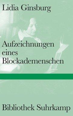 Aufzeichnungen eines Blockademenschen - Ginsburg, Lidia