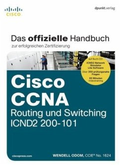 Cisco CCNA Routing und Switching ICND2 200-101, m. CD-ROM - Odom, Wendell