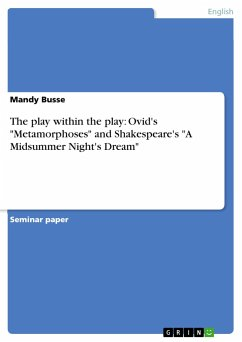 The play within the play: Ovid's