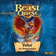 Voltor, der Himmelsrächer / Beast Quest Bd.26 (1 Audio-CD) - Blade, Adam