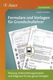 Formulare und Vorlagen für Grundschullehrer, CD-ROM