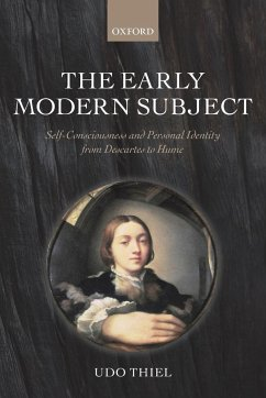 The Early Modern Subject - Thiel, Udo
