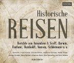 Historische Reisen, 12 Audio-CDs
