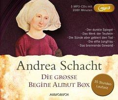Die große Begine Almut Box / Begine Almut Bossart Bd.1-5, 5 MP3-CDs - Schacht, Andrea
