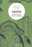 Skopje (Mazedonien), m. Faltplan