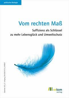 Vom rechten Maß (eBook, PDF)