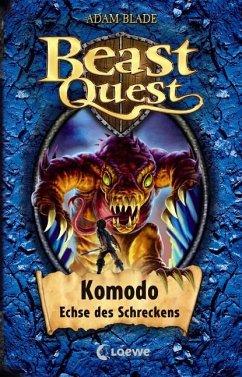 Komodo, Echse des Schreckens / Beast Quest Bd.31 - Blade, Adam