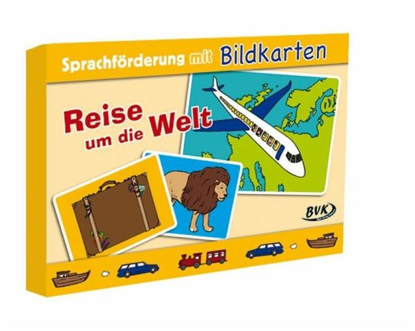 Sprachförderung mit Bildkarten Reise um die Welt