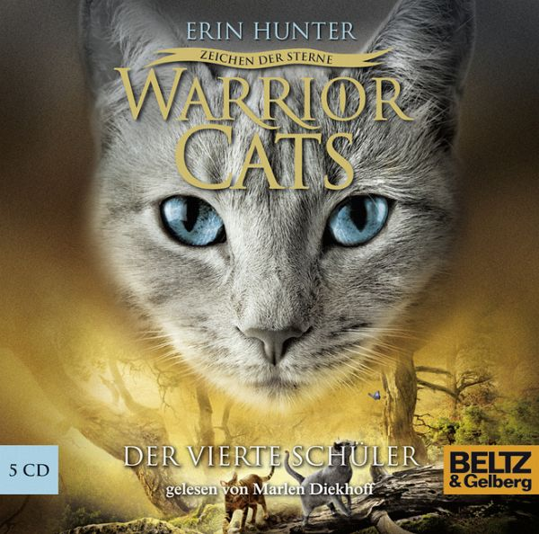 Der Vierte Schüler / Warrior Cats Staffel 4 Bd.1 (5 Audio
