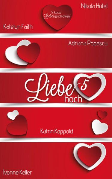 Liebe hoch 5 (eBook, ePUB) - (Hg.), Katrin Koppold; Faith, Katelyn; Keller, Ivonne; Popescu, Adriana