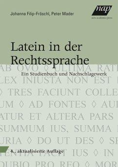 Latein in der Rechtssprache