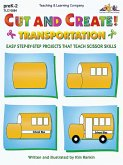 Cut and Create! Transportation (eBook, PDF)