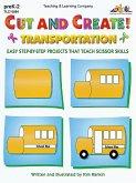 Cut and Create! Transportation (eBook, PDF)