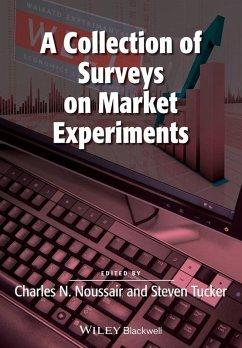 A Collection of Surveys on Market Experiments (eBook, ePUB)