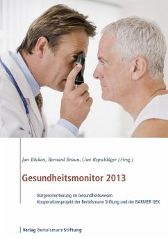 Gesundheitsmonitor 2013 (eBook, PDF)
