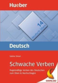 Schwache Verben (eBook, PDF) - Dinsel, Sabine