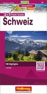 Hallwag Flash Guide Schweiz