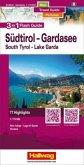 Hallwag Flash Guide Südtirol - Gardasee - Venedig; South Tyrol - Lake Garda - Venezia