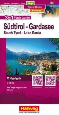 Hallwag Flash Guide Südtirol - Gardasee - Vened...