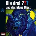 Die drei Fragezeichen und das blaue Biest / Die drei Fragezeichen - Hörbuch Bd.167 (1 Audio-CD)
