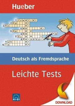 Leichte Tests Deutsch als Fremdsprache (eBook, PDF) - Schumann, Johannes