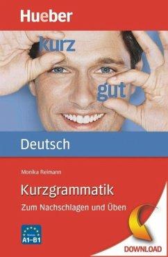 Kurzgrammatik Deutsch (eBook, PDF) - Reimann, Monika