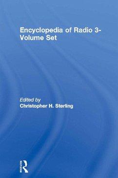 Encyclopedia of Radio 3-Volume Set (eBook, PDF)